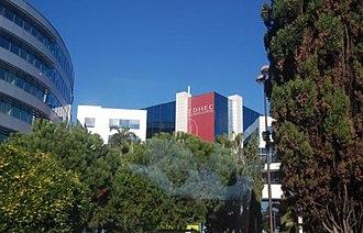 EDHEC Business School (Ecole des Hautes Etudes Commerciales du Nord) - Edhec campus in Nice.