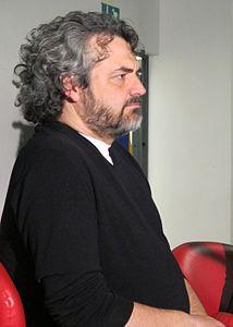 Edoardo nesi, biblioteca lazzeriniana di prato, marzo 2012, 01.JPG