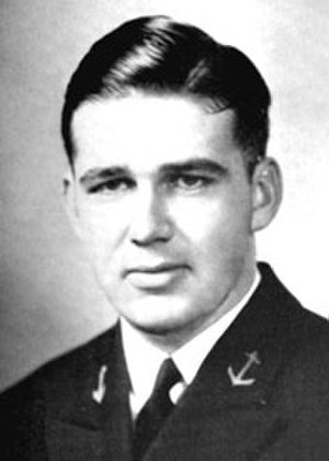 Edward O'Hare - O'Hare as 2/C Midshipman at the Naval Academy, 1935.