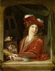 A young Painter