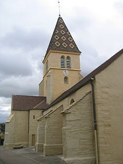 Eglise de Couchey Côte d'Or.JPG