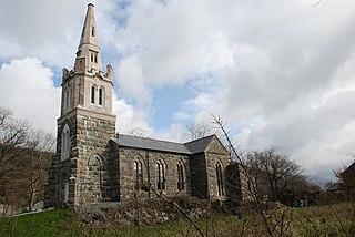Tremadog village in Wales