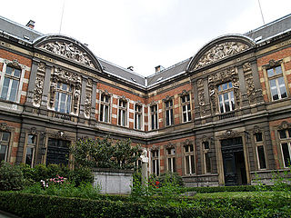 Music college at Brussels