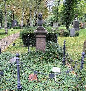 Adolph Diesterweg - Tomb at Alter St.-Matthäus-Kirchhof in Berlin-Schöneberg