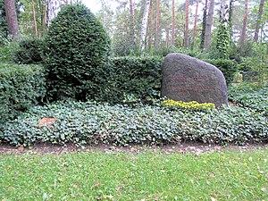 Waldfriedhof Zehlendorf - Erwin Piscator
