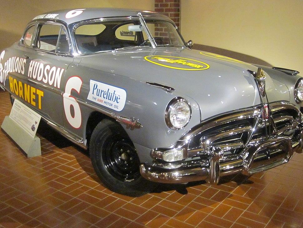Eldon & Esta Hostetler Hudson Motor Car Collection - Hudson Hornet Race Car