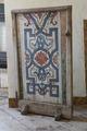 Eldskärm av furu, målad med berainornamentik - Skoklosters slott - 103952.tif