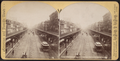 Elevated R.R. on the Bowery. New York, from Robert N. Dennis collection of stereoscopic views.png