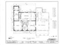Elioenai Clark Tavern, Old Litchfield Turnpike, Woodbridge, New Haven County, CT HABS CONN,5-WOOD,1- (sheet 2 of 12).png