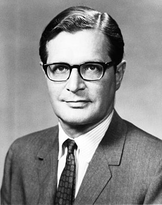 Archibald Cox - Elliot Richardson, photo portrait during the Nixon administration