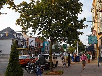 Elmwood Village, Buffalo - Image: Elmwood Ave