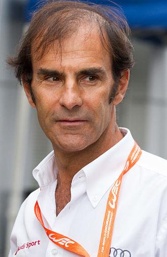 Emanuele Pirro - Pirro in 2012