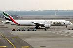 Emirates, A6-EGZ, Boeing 777-31H ER (24484029280).jpg