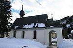 Kapelle St. Jakob im Espen (an der Dorfzufahrt), (1648)
