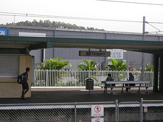 Enoggera, Queensland - Enoggera railway station.