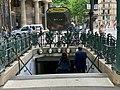Entrée Station Métro Monceau Paris 7.jpg