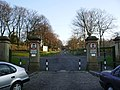 Entrance and drive, Queens Park, Blackburn - geograph.org.uk - 698326.jpg