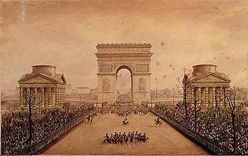 Entry of Napoleon III into Paris by Theodore Jung