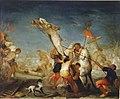 Erección de la cruz, de Matías de Torres (Real Academia de Bellas Artes de San Fernando).jpg