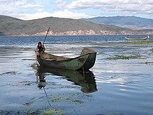 Yunnan-Geografia fisica-Erhai lake, Yunnan, China