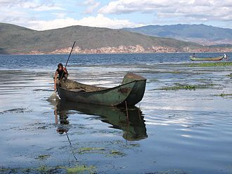 Erhai Lake - Image: Erhai lake, Yunnan, China