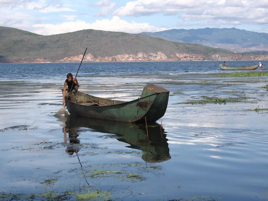 Erhai lake, Yunnan, China