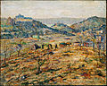Ernest Lawson - City Suburbs - Google Art Project.jpg