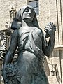 Estatuas de Pablo Gargallo-Palacio de los Condes de Argillo-Zaragoza - P1410229.jpg