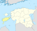 Estonia Saare location map.png