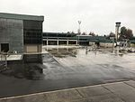 Eugene Airport Expanded terminal with B gate concourse.jpg