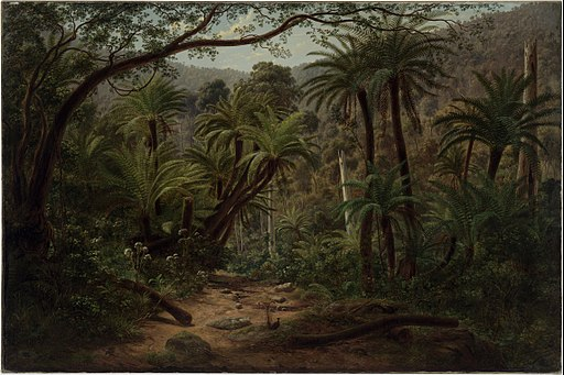 Eugene VON GUÉRard - Ferntree Gully in the Dandenong Ranges - Google Art Project