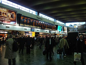 Euston station, London, UK