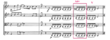 Example A. The Augmented Sixth Chord in m. 25
