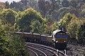 Exeter Riverside - GBRf 66741 ballast train for Westbury.JPG