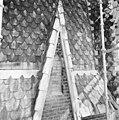 Exterieur TOREN, SPITSVOET, DETAIL (TIJDENS RESTAURATIE) - Veghel - 20285803 - RCE.jpg