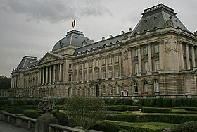 Exterior of the Royal Palace, Brussels.jpg