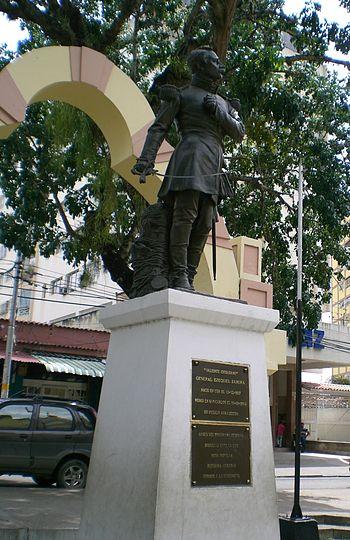 Ezequiel Zamora statue%2C Cu%C3%A1