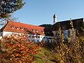 Füssen - Franziskanerkloster v NW, Herbst.JPG