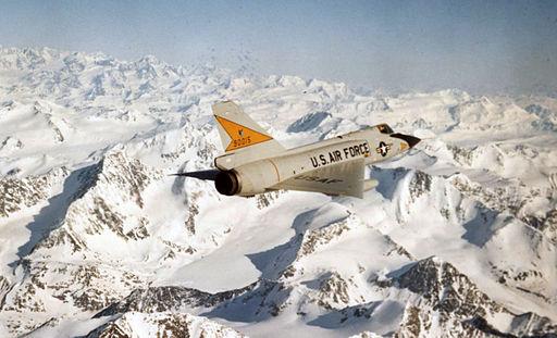 F-106 over Alaska
