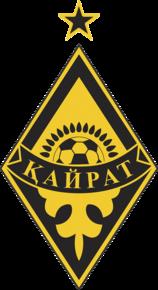 https://upload.wikimedia.org/wikipedia/commons/thumb/1/1b/FCKairat_logo.png/158px-FCKairat_logo.png