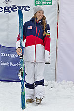 FIS Moguls World Cup 2015 Finals - Megève - 20150315 - Morgan Schild 3.jpg
