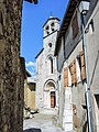 Façade et clocher de l'église Saint Géraud (2).jpg