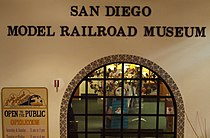 Facade of San Diego Model Railroad Museum.jpg