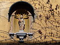 Facade with Virgin Mary Figure and Vines - Fuggerei Social-Housing Project - Augsburg - Germany.jpg