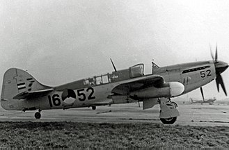 Netherlands Naval Aviation Service - Fairey Firefly FR.4 of the MLD in 1952