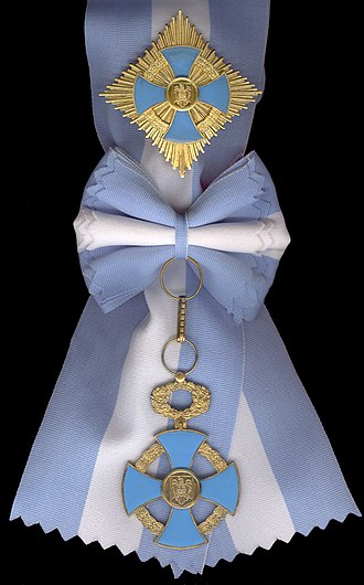 National Order of Faithful Service - Image: Faithful Service Order Gd.Cross civils 1