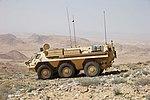 Falcon Sqn FUCHS vehicle in Jordan MOD 45164582.jpg
