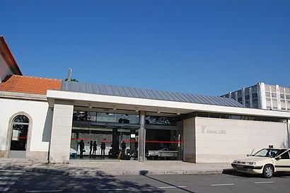 Como chegar a Famalicão (Estação) através de transportes públicos - Acerca do local
