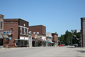 Farmer City, Illinois - Downtown Farmer City