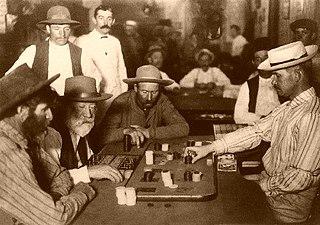 Faro (banking game) French gambling card game